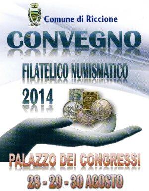 Convegno Filatelico Numismatico 2014 Riccione